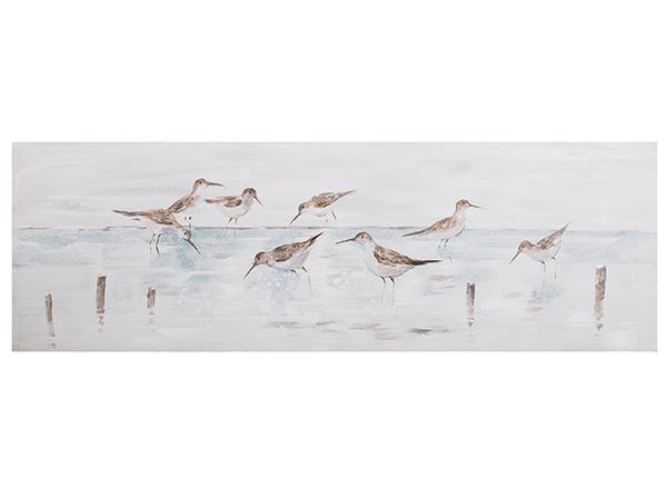 Масляная картина Птицы 50x150 cm