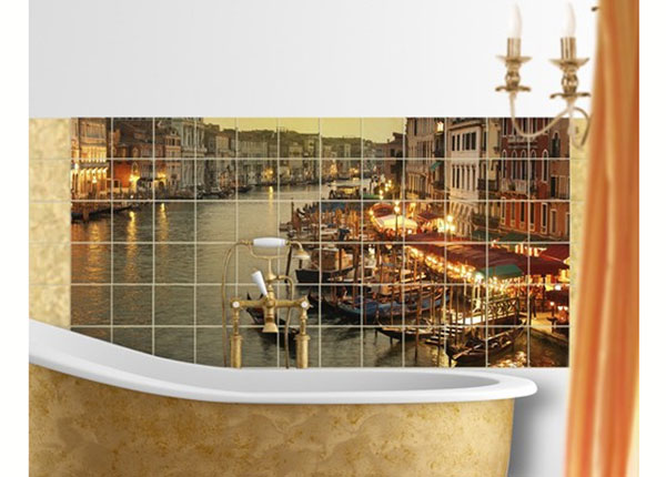 Kleebised seinaplaatidele Grand Canal of Venice 60x120 cm