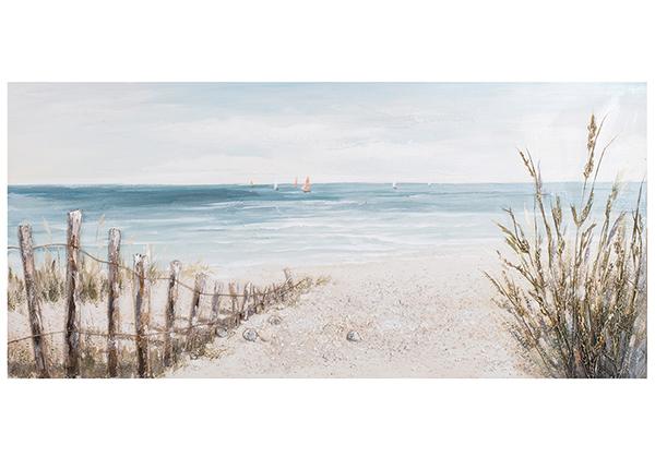 Масляная картина Морское побережье 70x140 cm