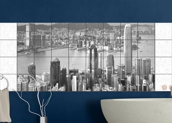 Kleebised seinaplaatidele Skyline Nostalgia 60x120 cm