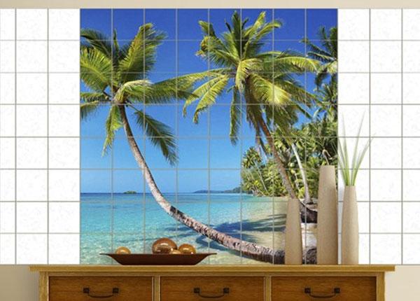 Наклейки на плитку Beach of Thailand 120x120 cm