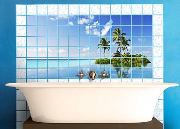 Kleebised seinaplaatidele Tropical Paradise 60x120 cm