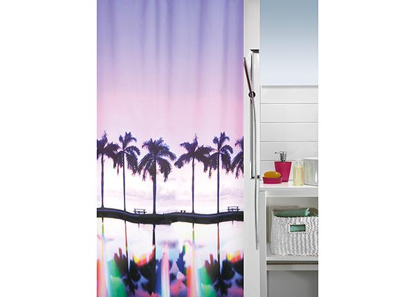 Штора для ванной Palm Beach 180x200 cm