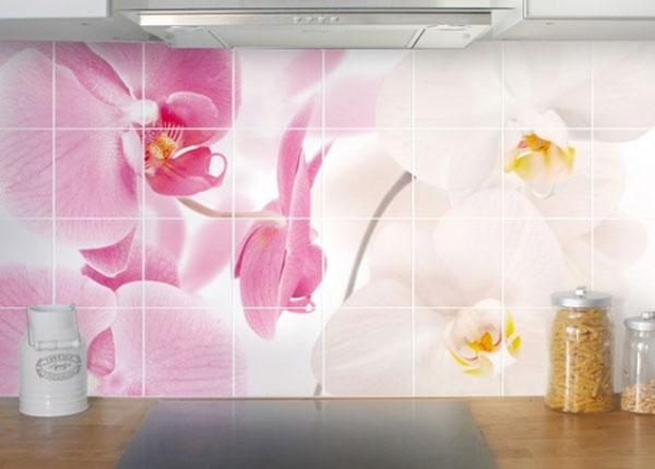 Наклейки на плитку Delicate Orchids 60x120 cm