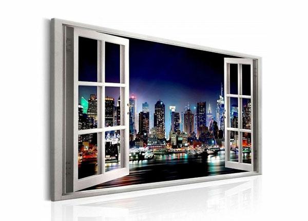 Seinätaulu NEW YORK VIEW WINDOW 120x80 cm ED-139719