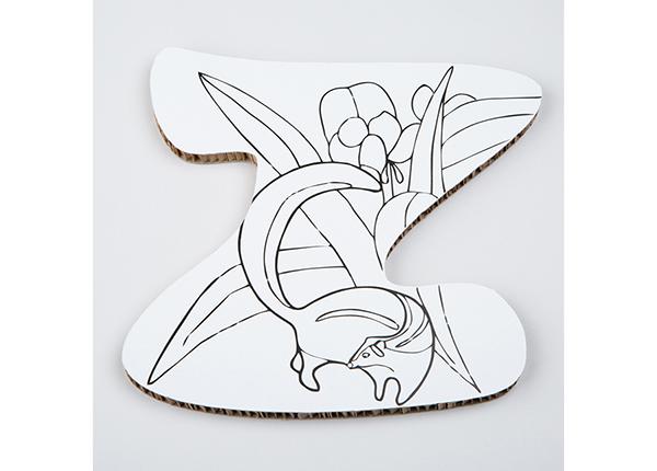 Декоративная буква Z