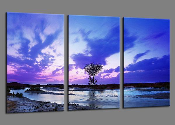 Kolmeosaline seinapilt Natur 160x90 cm ED-139940
