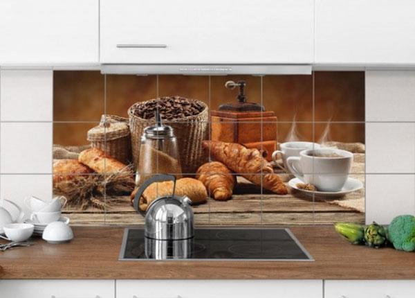 Наклейки на плитку Breakfast table 60x120 cm
