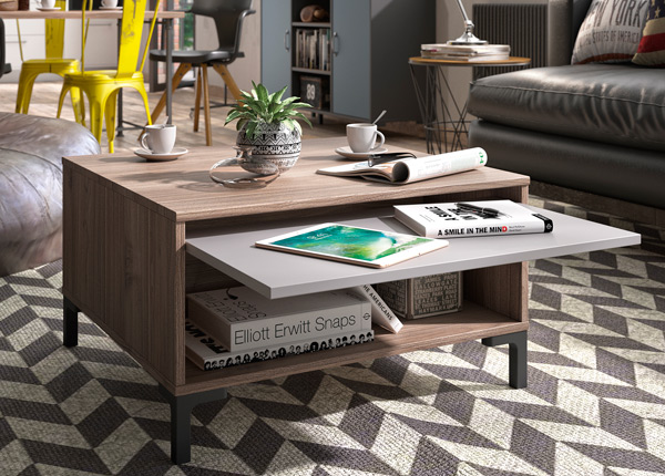 Sohvapöytä TRAY 70x70 cm