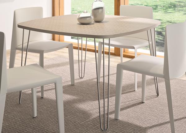Ruokapöytä LEMON 115x115 cm