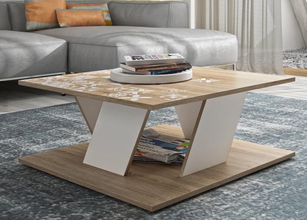 Sohvapöytä BALTIC 80x80 cm
