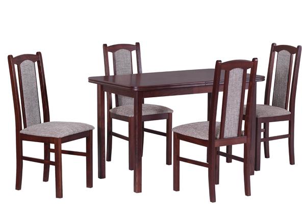 Удлиняющийся обеденный стол + 4 стула