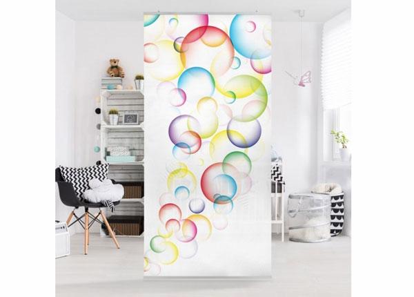 Paneelkardin Rainbow Bubbles 250x120 cm