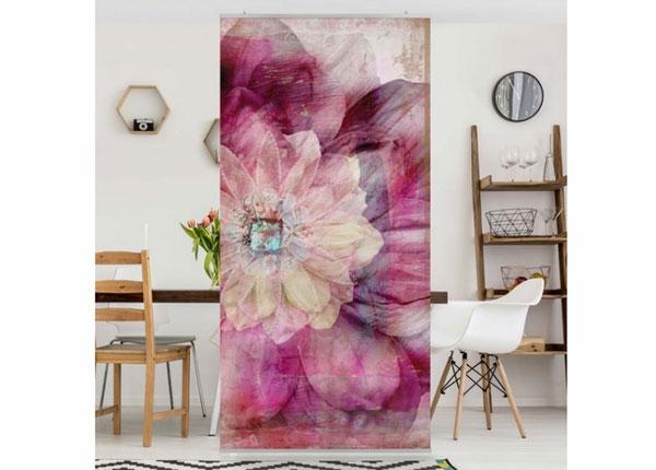 Paneelkardin Grunge Flower 250x120 cm