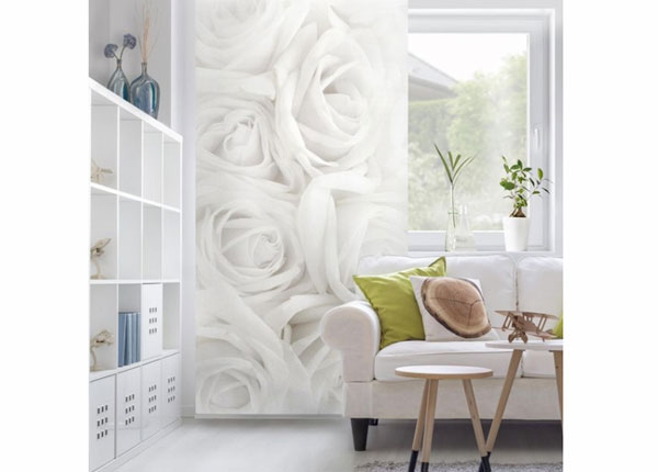 Paneeliverho WHITE ROSES 250x120 cm ED-141224