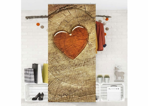 Paneelkardin Natural Love 250x120 cm