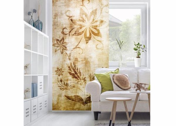 Paneeliverho WOODEN FLOWER 250x120 cm