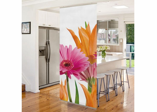 Paneeliverho FLOWER MELODY 250x120 cm