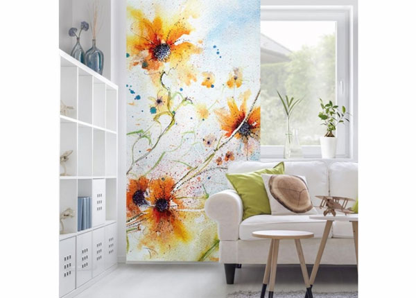 Paneelkardin Painted Flowers ED-141254