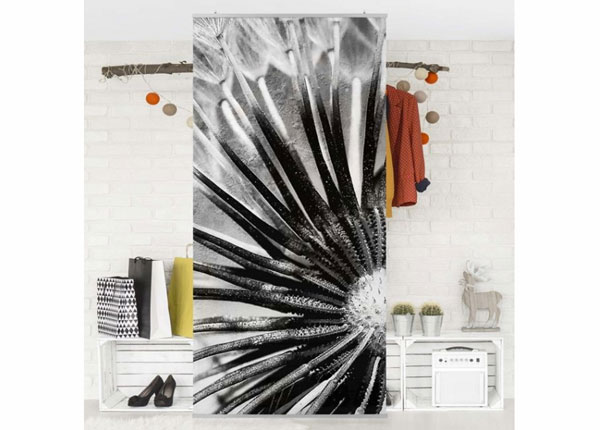 Paneeliverho DANDELION BLACK & WHITE ED-141327
