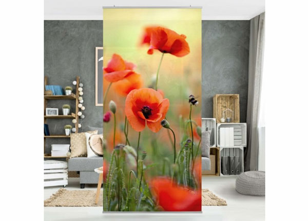Paneeliverho RED SUMMER POPPY ED-141418