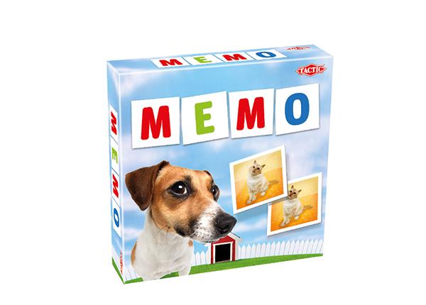 Lauamäng Memo loomad