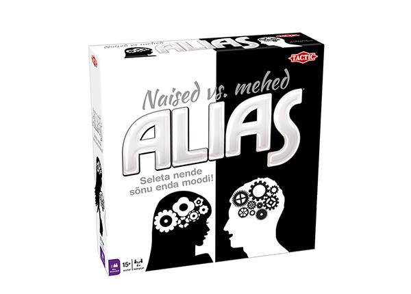 Lauamäng Alias Naised vs. mehed