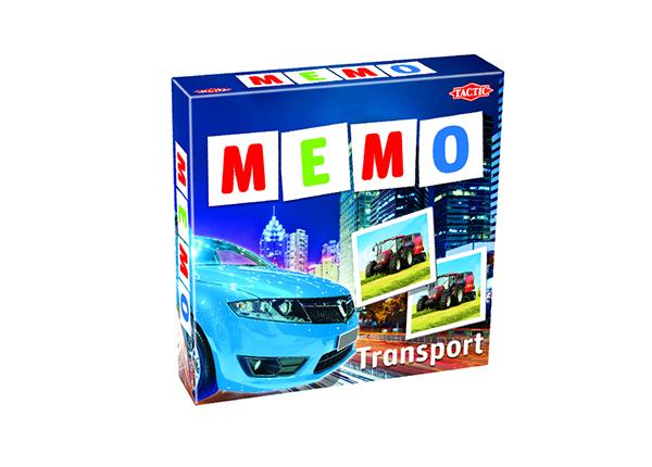 Lauamäng Memo Sõidukid