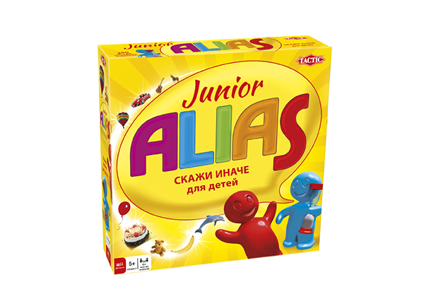 Lauamäng Junior Alias venekeelne