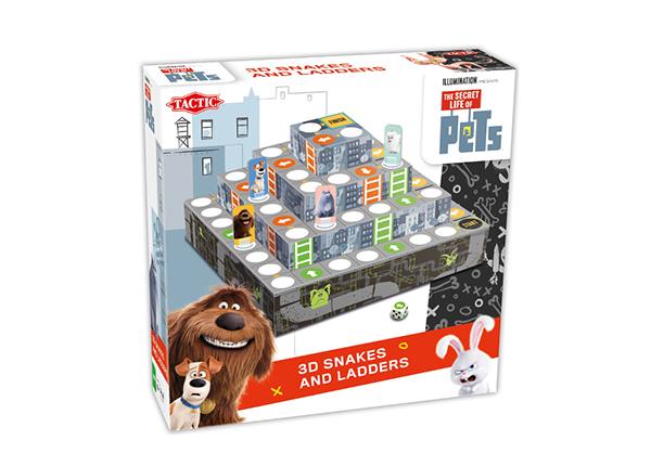 Lauamäng 3D Tsirkus Lemmikloomade salajane elu