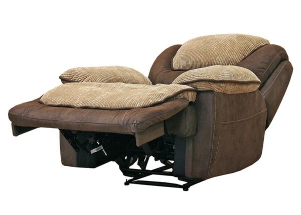 Nojatuoli RELAX5, kullanruskea/beige