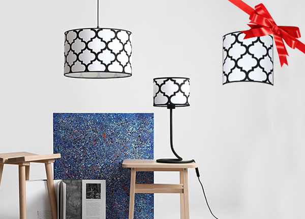 Комплект из подвесной и настенной ламп Rocco AA-141878
