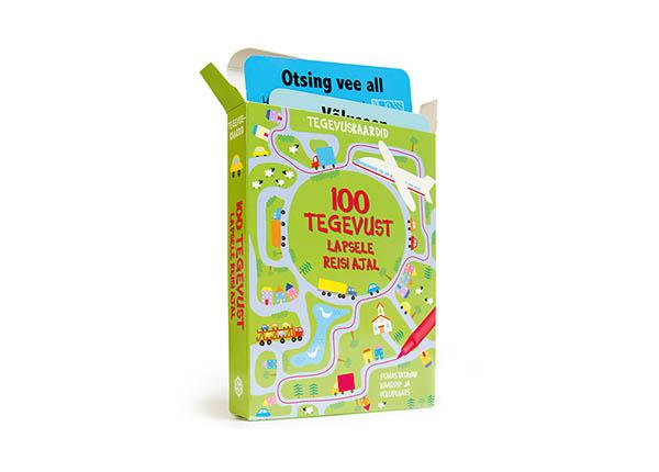 """Развивающие карточки """"100 занятий для ребенка во время поездки"""""""