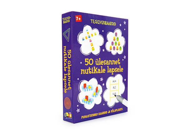 Tegevuskaardid 50 ülesannet nutikale lapsele
