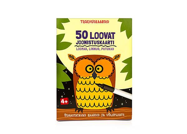 """Развивающие карточки """"50 творческих чертежных карточек"""" DD-142060"""