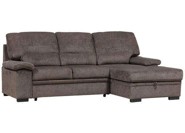 Угловой диван-кровать с ящиком Sybil