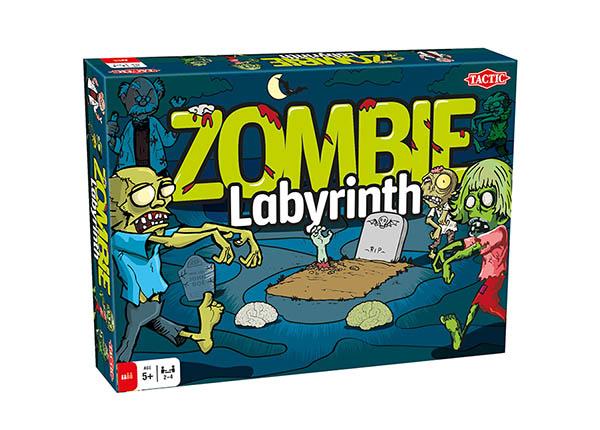 Lauamäng Zombie Labürint
