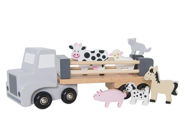 Puinen eläinkuljetusauto GB-142320