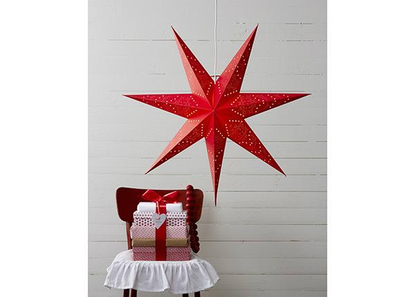 Punane täht Sensy 70 cm AA-142398