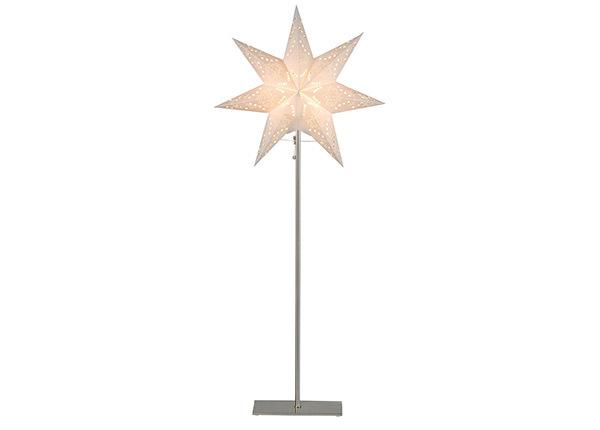 Valge täht Sensy jalaga 83 cm AA-142410