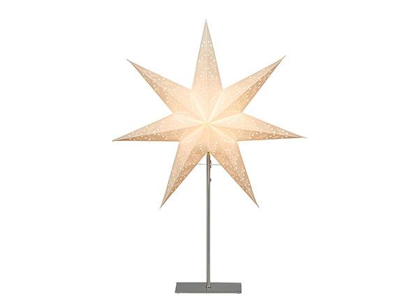 Valge täht Sensy jalaga 78 cm AA-142412