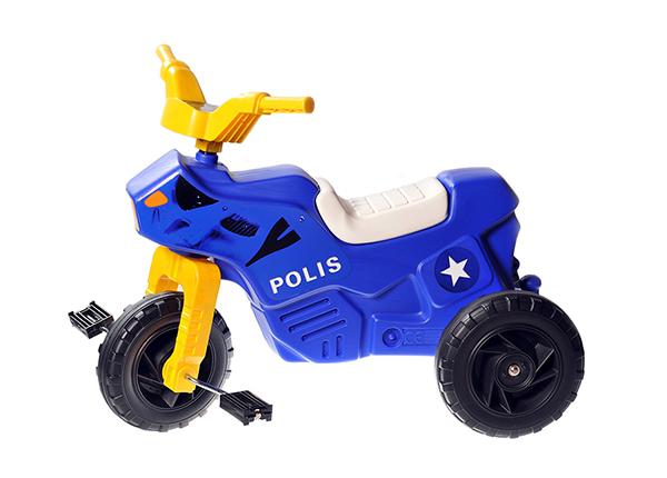 Pedaalidega mootorratas Politsei