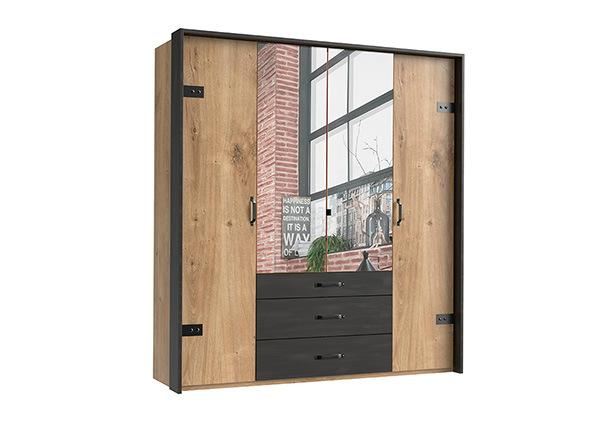 Шкаф платяной Detroit + рама SM-142650