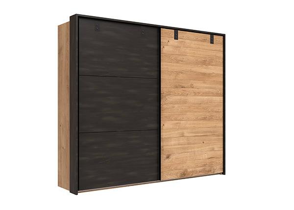 Lükandustega riidekapp Detroit 210 cm + raam SM-142661