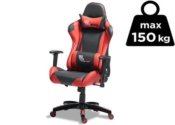 Työtuoli Gaming, punainen/musta AY-142718