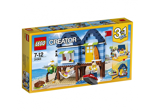 Rannapuhkus Lego Creator