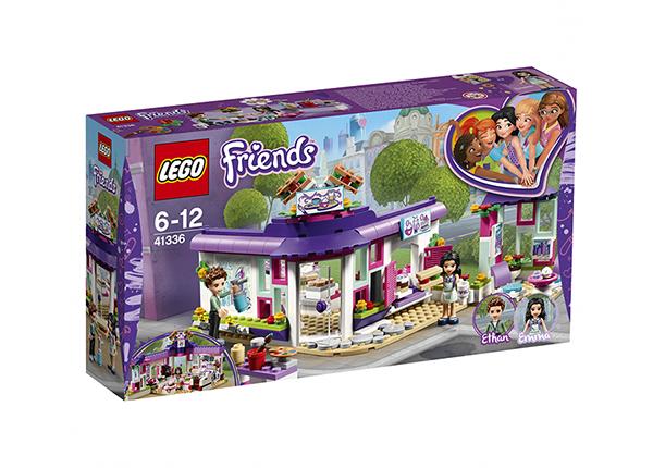 Emma kunstikohvik Lego Friends