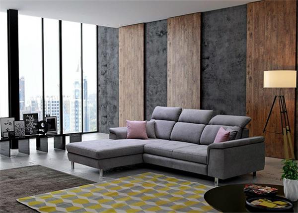 Угловой диван-кровать с ящиком Bonny