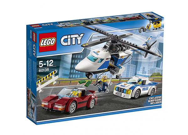 Vauhdikas takaa-ajo LEGO City