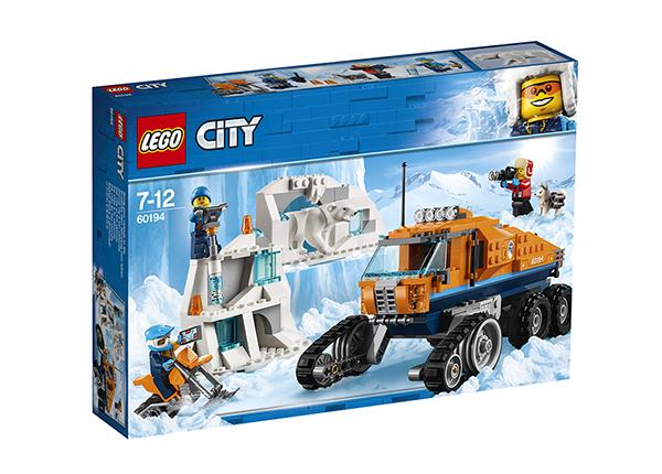 Arktinen tiedusteluauto LEGO City